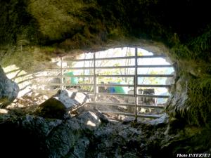 Grotte interdite au public