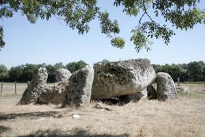 Dolmen de la Pierre levée - La Vallée (17)