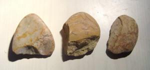 Galets aménagés du Paléolithique inférieur
