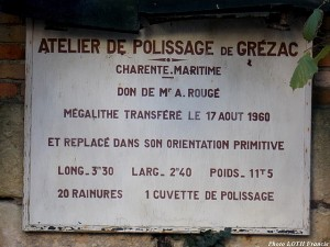 Polissoir de Grézac - 01
